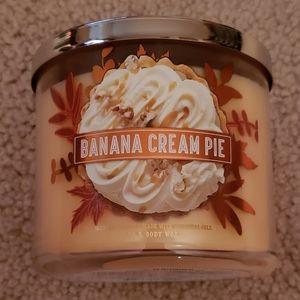 3 Wick Banana Cream Pie Candle